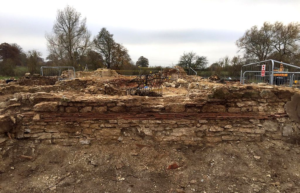 HS2 archaeology Stoke Mandeville church